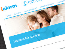 ialarm-website-design