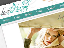 love-harlow-ecommerce-website