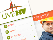 live-hv-cms-wordpress-website-development