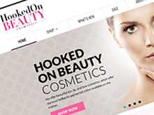 hooked-on-beauty-ecommerce-cms-website-development