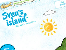 svens-island-website-design