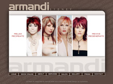 Flash Web Design Sydney for Armandi