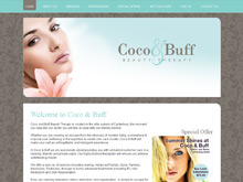Quikclicks Web Design Sydney Portfolio | Coco & Buff Beauty Therapy