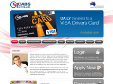 CMS Website Design Sydney | GM cabs
