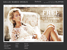Shopping Cart Ecommerce Sydney | Keliee Marie Design