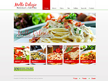 Static Website Design NSW | Molto Delizio