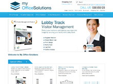 Shopping Cart Ecommerce Australia | My Office Solutions