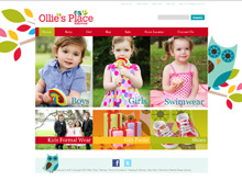 Shopping Cart Ecommerce Australia | Ollie's Place