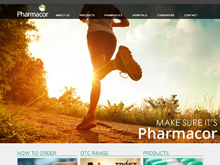 CMS Website Design Australia | Pharmacor