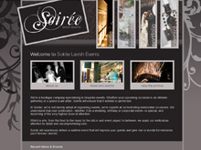CMS Website Design Sydney | Soiree Lavish Events