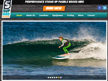 CMS Website Design Australia | SUP Hire Australia
