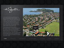 Flash Website Design Australia for The Signature Vaucluse