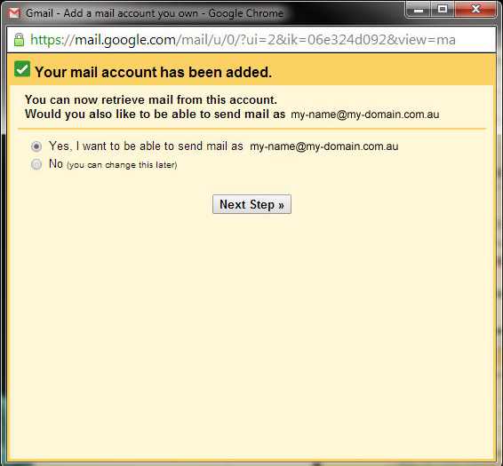 gmail pop3 email 5