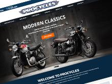 procycles-website-design