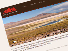 tierraresources_webdesign
