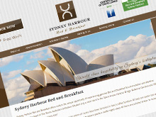 sydney-harbour-bed-breakfast-website-design