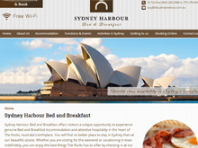 wordpress website design testimonial sydneyharbour