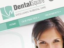 dental-square-cms-website-design