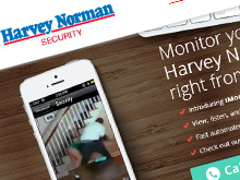 harvey-norman-security-cms-website-design