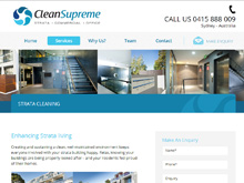 Wordpress website Design company testimonial clean supreme