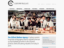 Hospitality website design review - clifford wallace