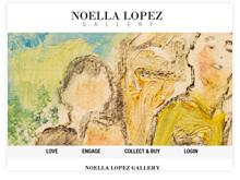 Ecommerce online art store testimonial - noella lopez