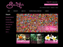 Ecommerce Web Design Review - Sisters Unite