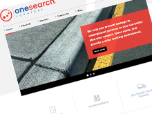 one-search-cms-website-design