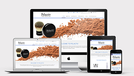responsive web design for pelactiv