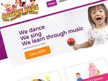 action-kids-cms-website-design-sydney