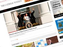 catholic-weekly-cms-website-design-sydney