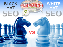 Black Hat vs White Hat SEO - Quikclicks website design