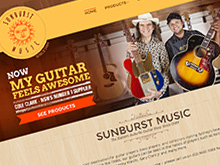 sunburst-music-ecommerce-cms-website-development