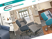 regency-healthcare-website-design-sydney