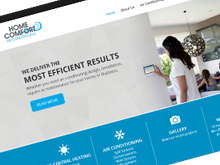 homecomfortair-website-design