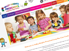 valley-heights-preschool-website-design
