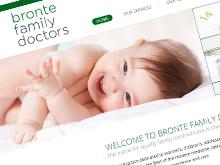 bronte-family-doctorscms-website-design