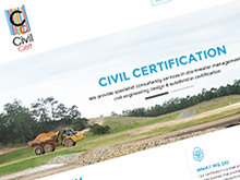 civil-certification-cms-website-design