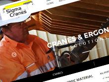 sigma-cranes-cms-website-design