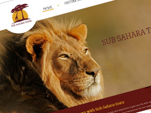 sub-sahara-tourscms-website-design