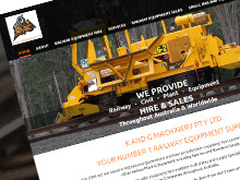 K-and-G-machinery-cms-website-design-sydney