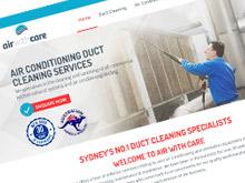 air-with-care-cms-website-design-sydney