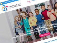 paramount-youth-services-cms-website-design-sydney