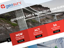 geosurv-website-design