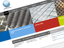 metal-mesh-cms-website-design-sydney