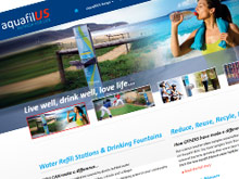 aquafilus-website-design