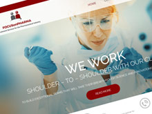 focus-on-pharma-cms-website-design-sydney