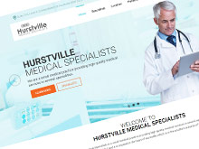 hurstville-medical-specialists-cms-website-design-sydney