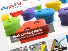 playground parts ecommerce website