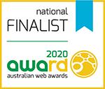 auswebawards 2020 Finalist